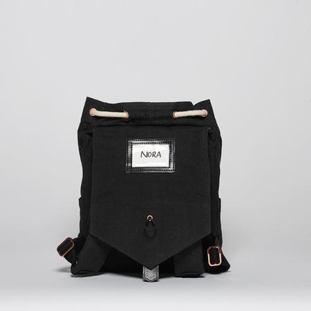 Mini black back open