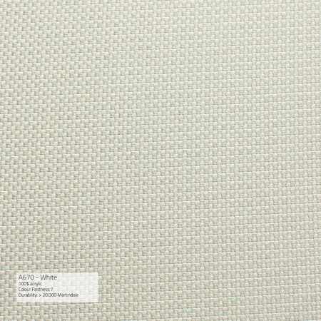 Sika Fabric Stoff A Outdoor White