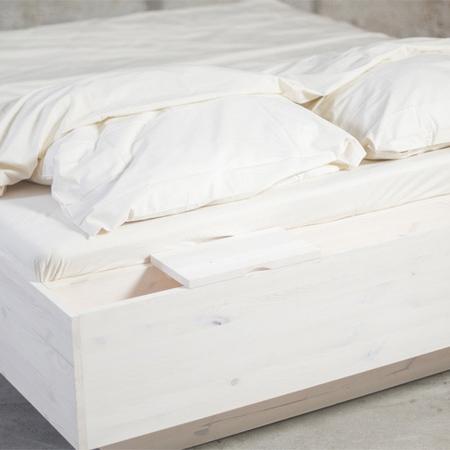Bett luke rueckseite mit ablage