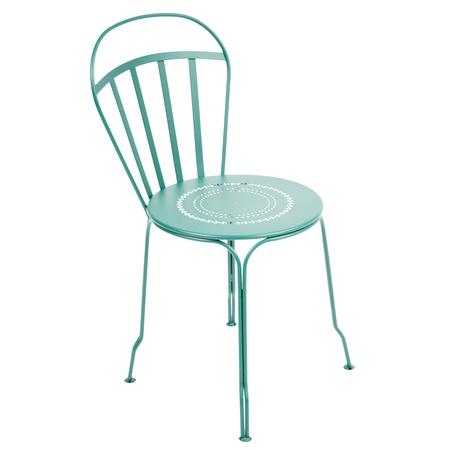 Louvre chaise bleu 20lagune