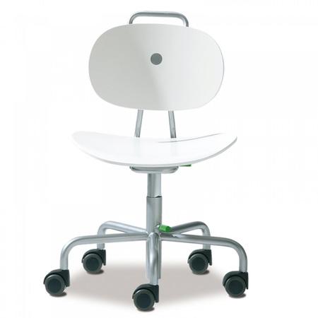 Schreibtischstuhl kinder weiß  Stuhl 'Turtle' für Kinder