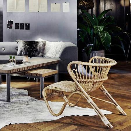 Fox chair nature sika design rattan moebel