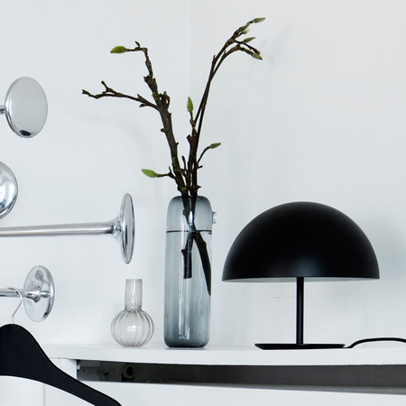 Mater baby dome table lamp black insitu