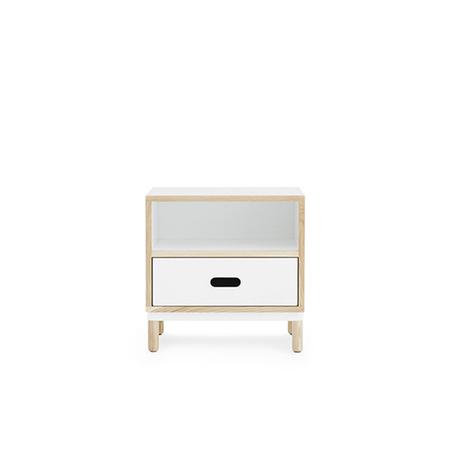 601053 kabino beadside table white 1