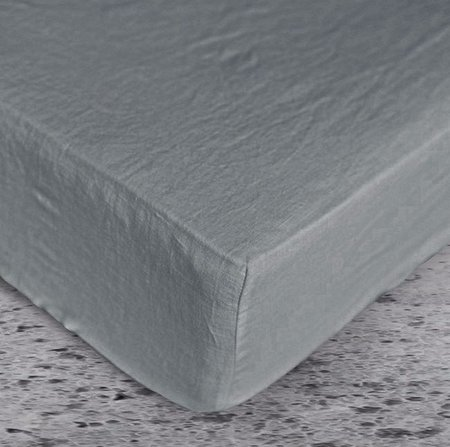 Fitted sheet color slate grey 1024x1024