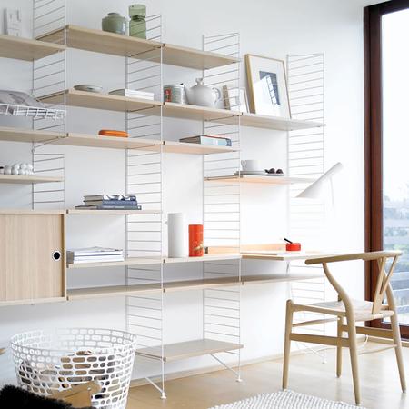 regal 39 string 39. Black Bedroom Furniture Sets. Home Design Ideas