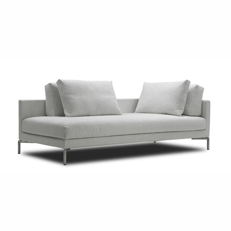 Plano sofa chaiselong 2 210x100 cm misty 20