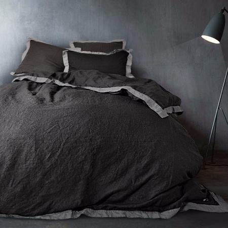 Naughtylinen bed black grey frontal d53e8177 19df 4897 82c2 4a6f1351123e 1024x1024