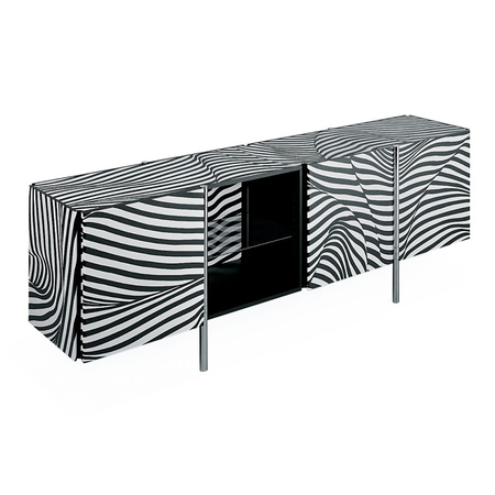 klassiker aus den 80ern sideboard 39 stripe 39. Black Bedroom Furniture Sets. Home Design Ideas