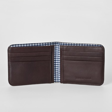 3 men wallet chocolate open 2 2