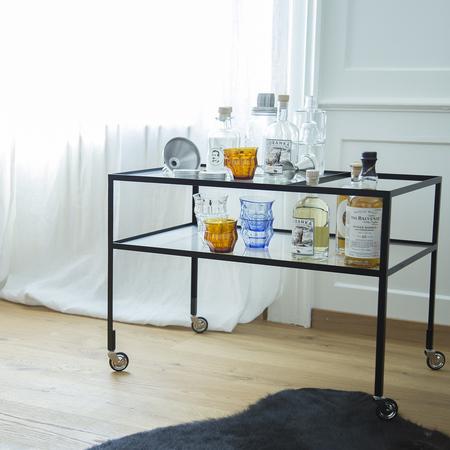 50er jahre barwagen 39 hirche 39. Black Bedroom Furniture Sets. Home Design Ideas