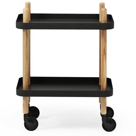 Normann copenhagen servierwagen block table schwarz    5372 0