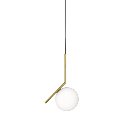 Flos ic light 200 s1 pendant lamp brass