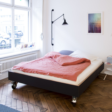 bett auf rollen modernes die feinste sammlung von home. Black Bedroom Furniture Sets. Home Design Ideas
