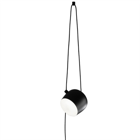 Aim pendelleuchte schwarz mit stecker cable und plug