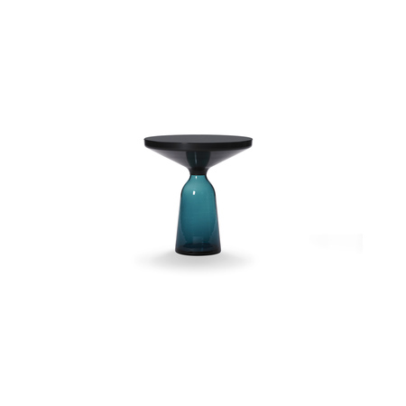 Bell side table black montana blue