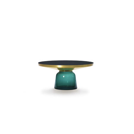 Bell coffee table green