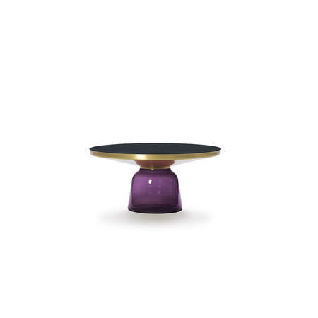 Bell coffee table violet