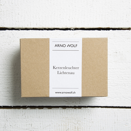 Kerzenständer LIchtenau Silber Arno Wolf