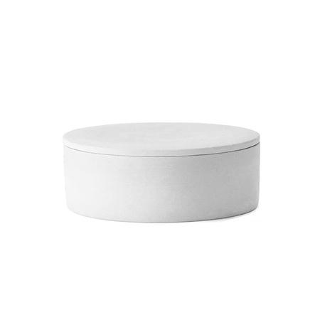 Menu  cylindrical container weiss freisteller