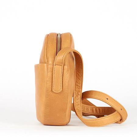 Baggu circle purse saddle 0004