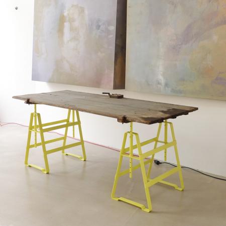 Tischbock Lackaffe Atelier Haussmann