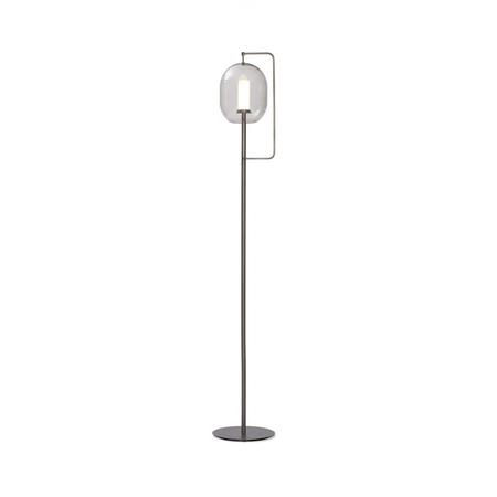 Lantern light floor lamp tall brass burnished 832c0afb