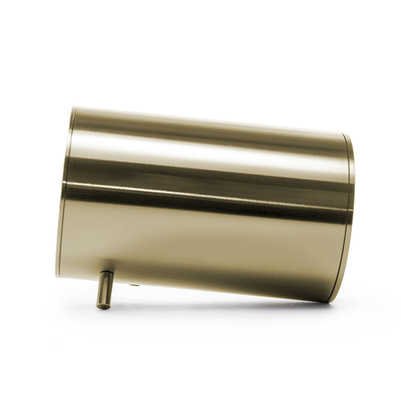 Leff amsterdam tube audio brass designed by piet heijn eek side