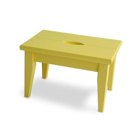 schemel in hellgelb. Black Bedroom Furniture Sets. Home Design Ideas