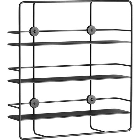 Regal Shelf Coupe Rectangular Woud