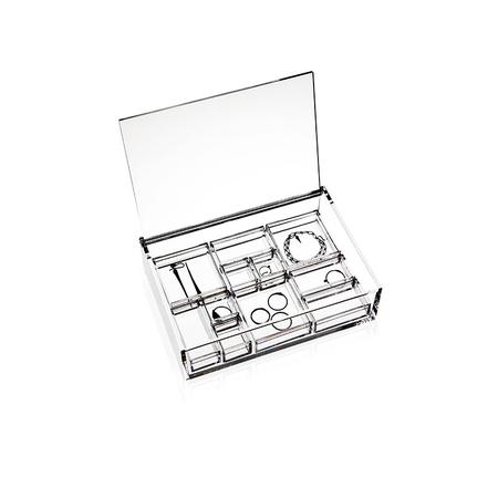 Jewellery box   clear assortment 12102
