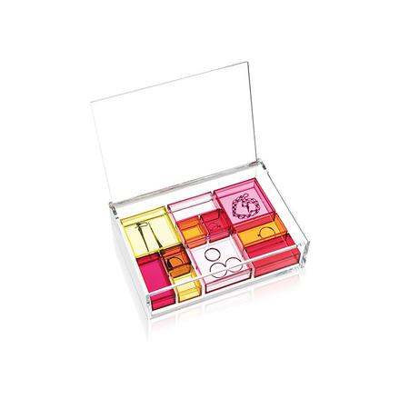 Jewellery box   pink assortment 12103