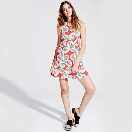 Frauenbekleidung kleider viskose blumen victoria mexicanflowers 1 1