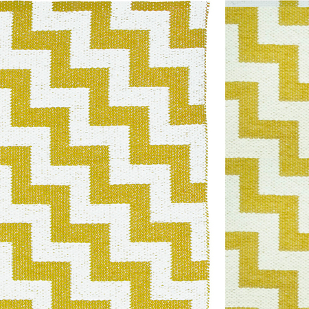Plastic rug gunnel mustard zoom