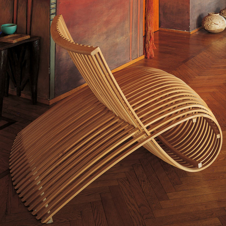 Wooden chair ambiente 1