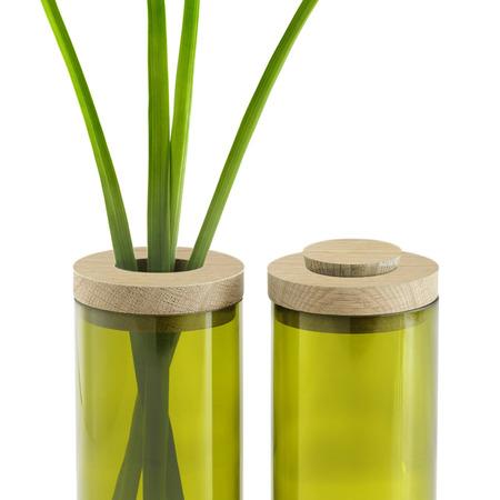 Sidebyside vase   dose gr%c3%bcn 2