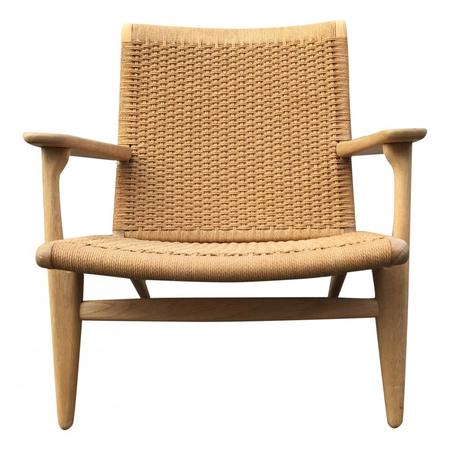 Wegner Sessel sessel mit kordelgeflecht