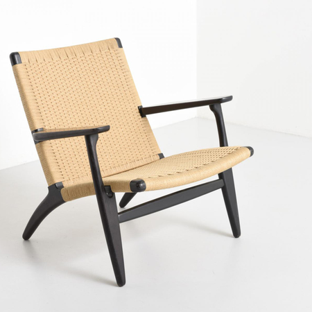 hans wegner stuhl carl hansen ch wishbone stuhl classic natural paper cord with hans wegner. Black Bedroom Furniture Sets. Home Design Ideas