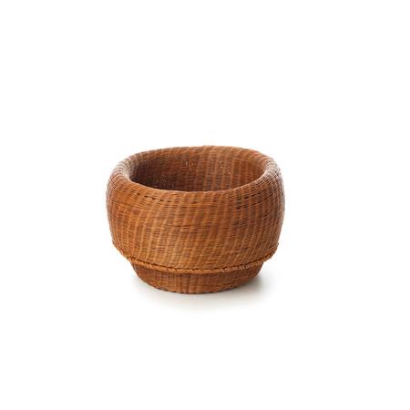 Ames fibra basket small kupfer frei