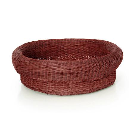 Ames fibra basket large rot frei