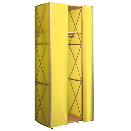 385 folienschrank gelb