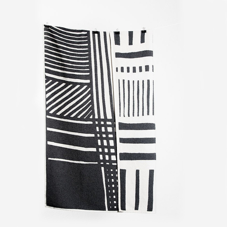 Coopdps cotton blankets towels coopdps sketch 2 cotton blankets by nathalie du pasquier george sowden black white 3 1024x1024