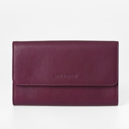1 mini bag plus burgundy front