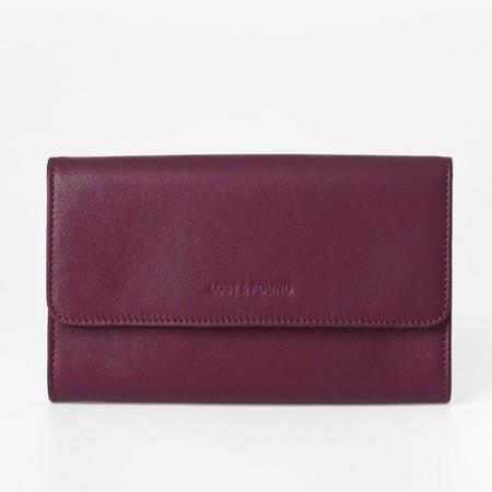1 mini bag plus burgundy front
