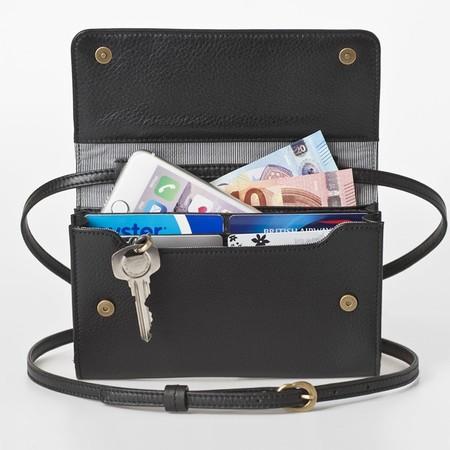 1 mini bag plus black front open 2