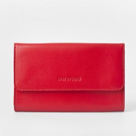 2 mini bag plus tangerine red front 2