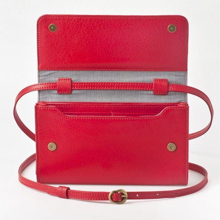 5 mini bag plus tangerine red front open 2