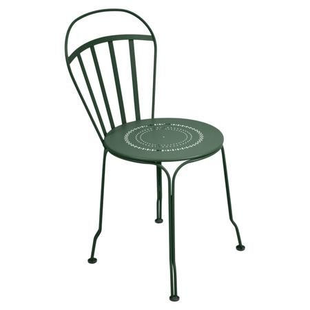 Louvre cedar green chair