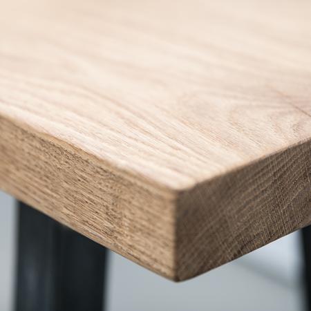Tisch Oak Steel Nuts and Woods
