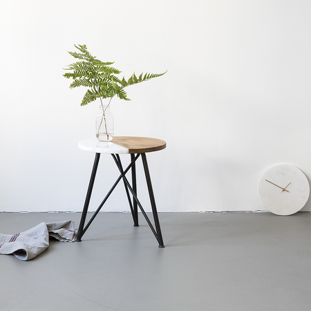 Naw side table marbledip 02